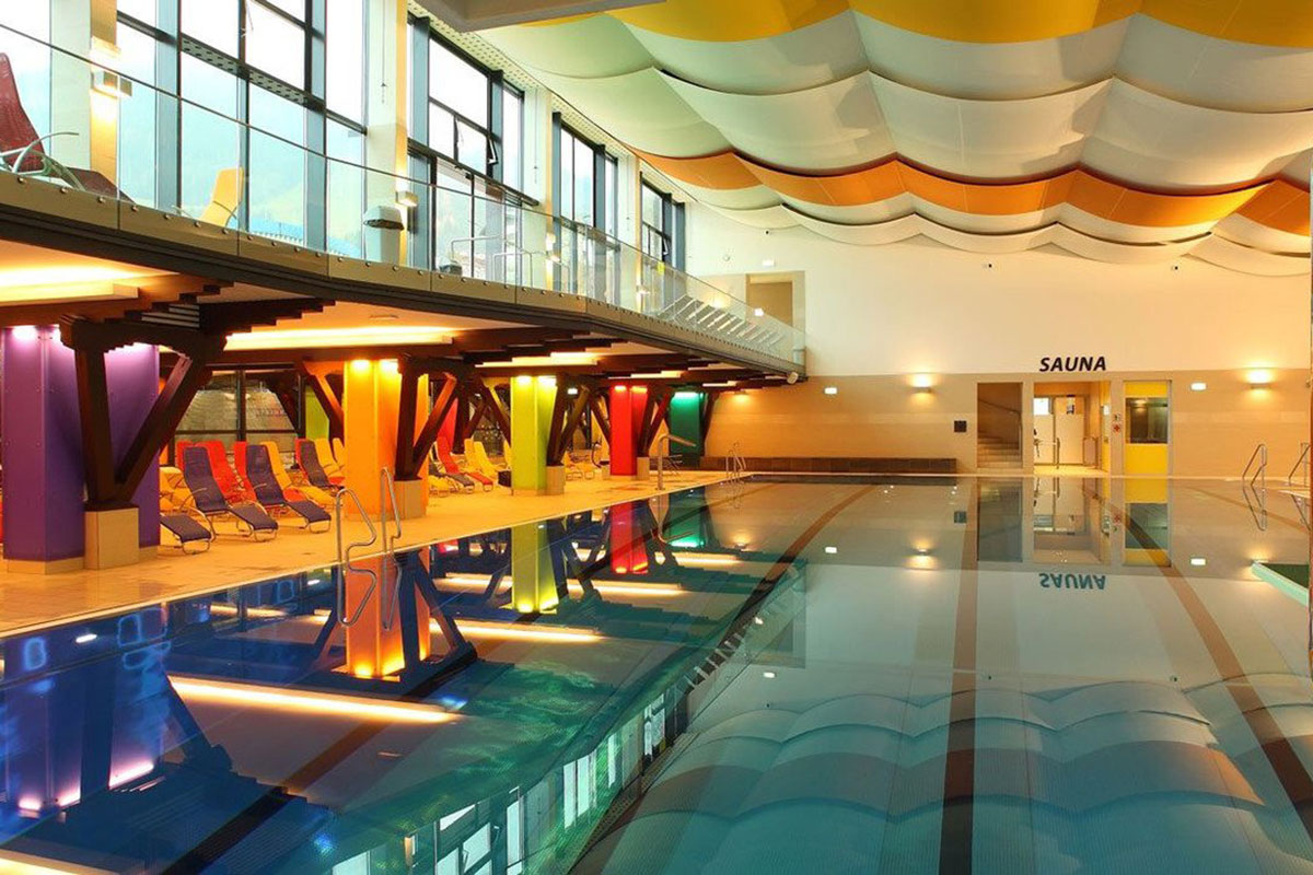 Indoor swimming pool Zell am See