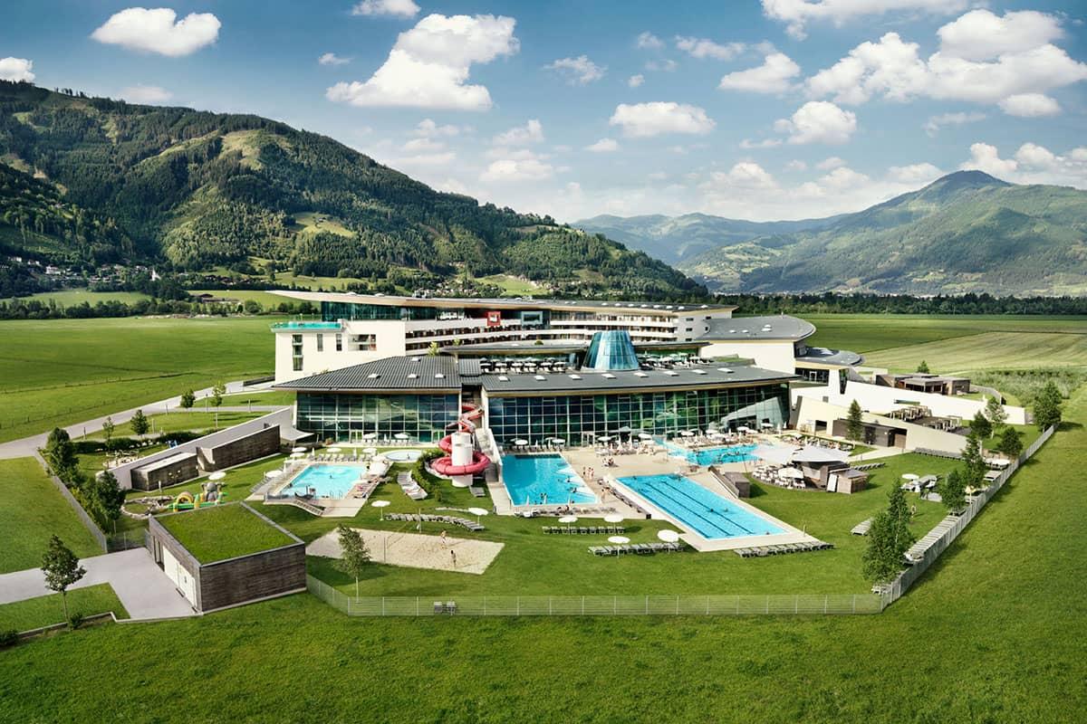 Tauern Spa in summer